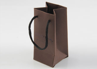 China Attractive And Durable Paper Shopping Bags Kraft Paper With 100% Recycled Material supplier
