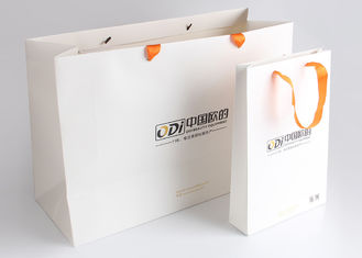China Decorative Fancy Folding Gift Packing Bags Logo Printed For Beauty Equipment supplier