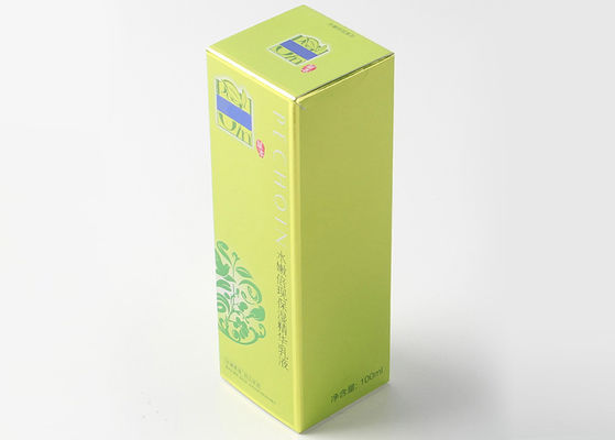 China Custom Matte Oil Varnish Printed Packaging Boxes Art Paper For Cosmetic Products supplier