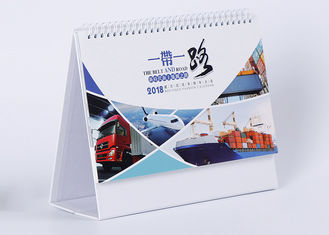 China Fancy Customized Daily Desk Calendar Wire - O Binding And Oil Varnishing supplier