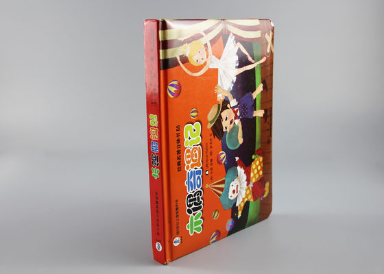 Soft Touching Front Cover Christmas Pop Up Books With Cartoon Kids Character