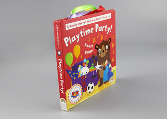 China 250gsm 2mm Multilingual Hardcover Children'S Books With Colorful Letters supplier