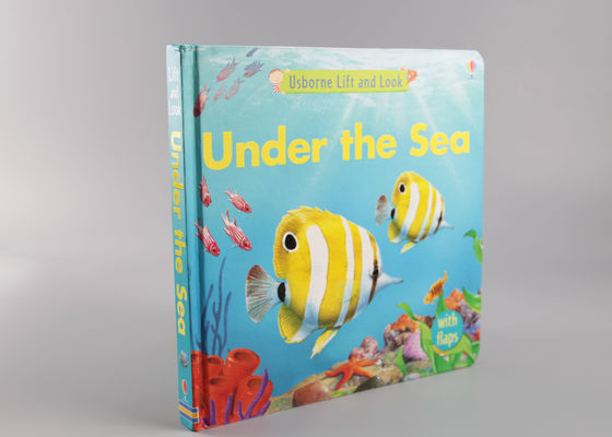 China Cute Matte Hardcover Children'S Books Printing With Spot UV And Oil Varnishing supplier