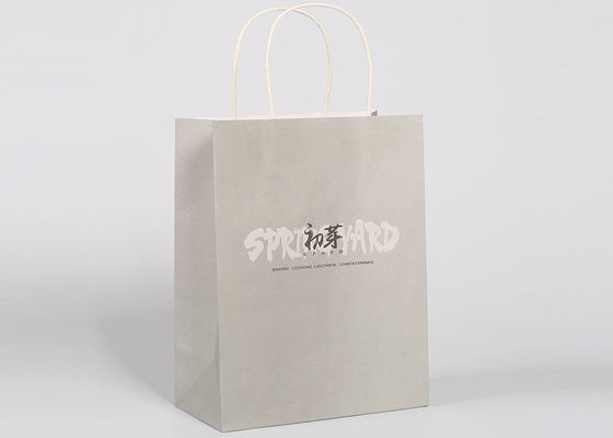 China Matt Printed Custom Logo Sturdy Gift Packing Bags Recyclable With Customized Logo factory