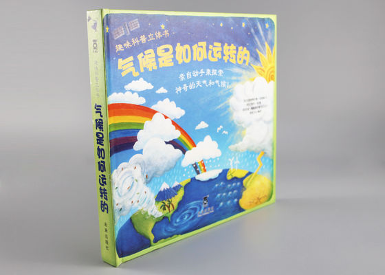 China Spot UV Educational Pop Up Books , Toddlers Cartoon Classic Pop Up Books distributor