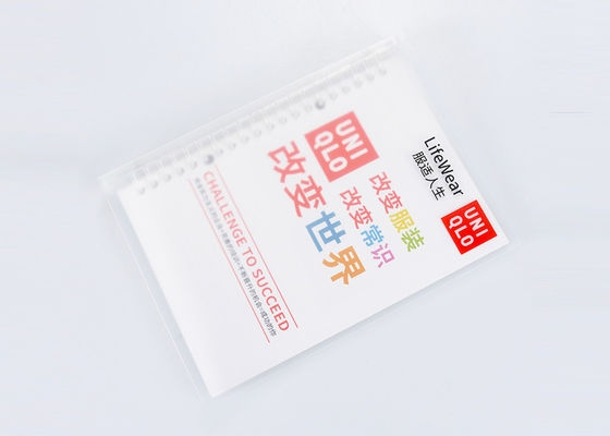 China Rivet Plastic Hard Cover Notebook Offset Paper Material And Personalized Logo distributor