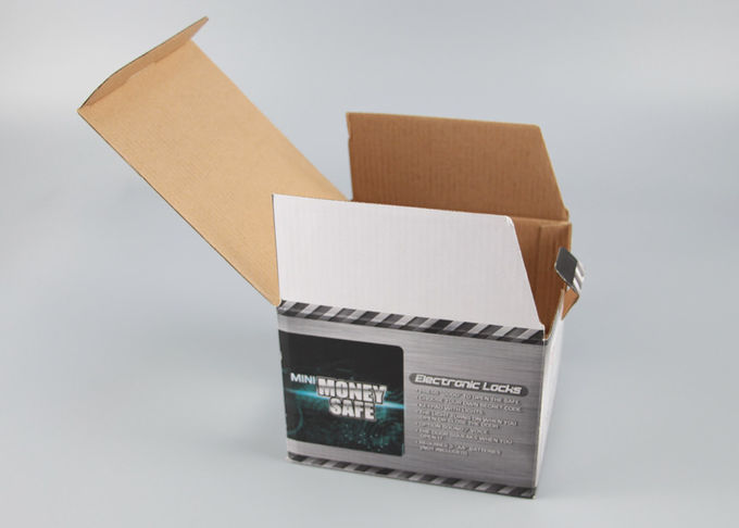 Oil Vanishing Boxes For Packaging Products , Custom Printed Boxes With Plastic Window