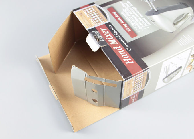Glossy Corrugated Small Paper Packaging Boxes For Small Home Appliances