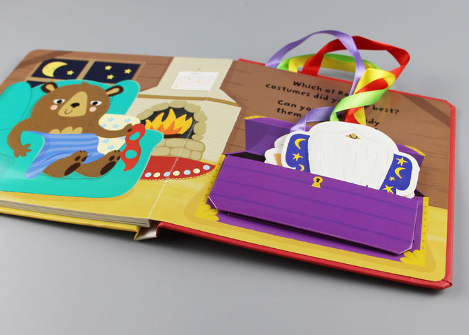 250gsm 2mm Multilingual Hardcover Children'S Books With Colorful Letters