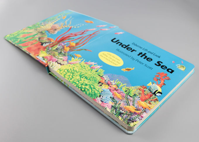 Cute Matte Hardcover Children'S Books Printing With Spot UV And Oil Varnishing